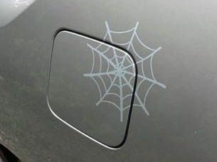 Fuel Door Spiderweb